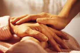 hands touch